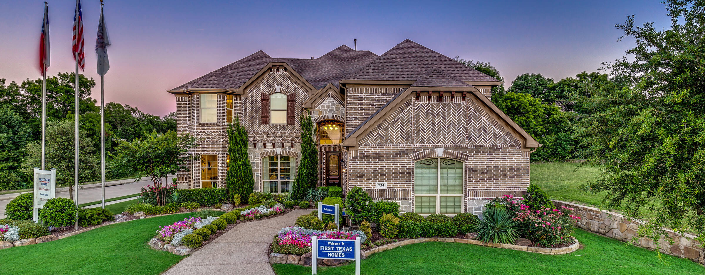 New home builders dallas fort worth tx first texas homes for Texas house builders
